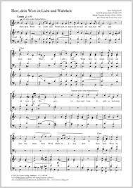 Samuel Wesley: Herr, dein Wort ist Licht und Wahrheit full score, separate  edition with choral collection | Carus-Verlag