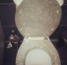 white glitter toilet seat. white glitter toilet seat