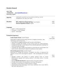 Ejemplos De Resume En Ingles Modelo De Resume En Ingles Enderrealtyparkco 9