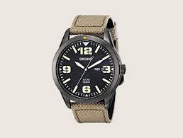 top 40 best military watches for men cool tactical timepieces seiko sne331 sport solar black stainless steel beige nylon band mens military watches