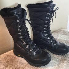 56% off UGG Shoes - UGG Black Kintla Quilted Insulated Tall Boots ... & UGG Shoes - UGG Black Kintla Quilted Insulated Tall Boots Adamdwight.com