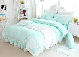 sea green bedding mint green sea glass paisley flowers cottage beach chic christy everett sea green sea green bedding