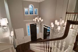 attractive two story foyer lighting deadlyinlove dd09