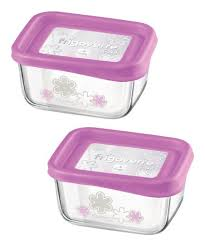 frigoverre fun 13 5 oz rectangle storage container set of two