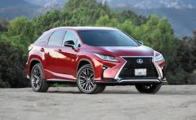 2018 lexus 350 f sport. perfect sport lexus wanted to make a statement with the latest rx seen here in f sport  trim consider that part of mission success for 2018 lexus 350 f sport