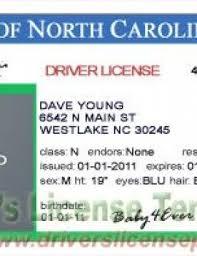 Nc Sleeve Fake - Drivers North License Psd Tattoo Carolina Birth… Certificate