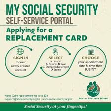 How do i replace my social security card. Getting A Replacement Social Security Card Ambergris Caye Belize Message Board