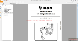 bobcat 323 wiring schematic bobcat diy wiring diagrams description bobcat excavators 323 6986958 service manual 2 08 size 31 8mb language english type pdf pages 643