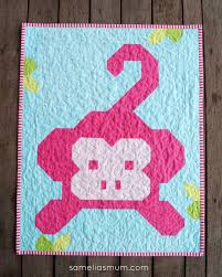 Samelia's Mum: Monkey Business Quilt & Carla of Granny Maud's Girl Adamdwight.com