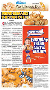 Special Report World Bread Day By Manila Standard Issuu