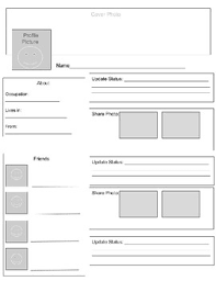 facebook page template for students facebook page template teaching resources teachers pay teachers