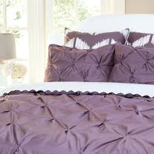 pintuck duvet white cover canada diy knotted handcrafted set charcoal grey