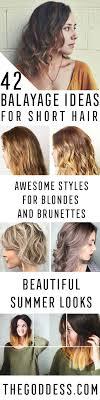 42 Balayage Ideas For Short Hair