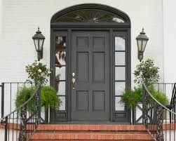 black front door with sidelightsBlack Door And Sidelight  Houzz