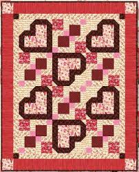 Quilt Inspiration: Free pattern day: Hearts and Valentines &  Adamdwight.com