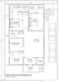 30x40 house floor plans architectural designs 20x30 east facing house plans