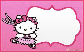 invitation card hello kitty hello kitty invitations free printable templates invitation world