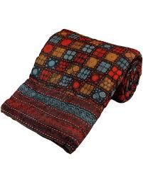 Designer Bagru Cotton Single Bed Razai Quilt, buy quilt online ... & Designer Bagru Cotton Single Bed Razai Quilt, buy quilt online, buy razai Adamdwight.com