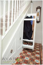 Home Interiors:Stylish Under Stairs Storage Ideas For Small Spaces Tricky  Under The Stair Storage