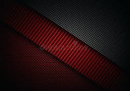 Red Black Gray Abstract Geometric Background Paper Layer Overlap