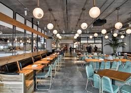 Cafeteria Lighting Design Dropbox Opens Industrial Style Cafeteria At California