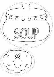 Campbell Soup Can Coloring Page Hasshecom