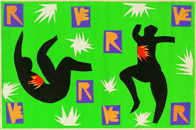 his brilliant final chapter tate henri matisse design for cover of verve iv 1945