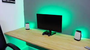 Awesome Led Lights Make Any Desk Set Up Awesome Led Strip Lights