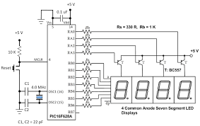 7 segment clock circuit diagram the wiring diagram lab 11 multiplexing seven segment led displays embedded lab wiring diagram