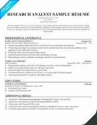 Sample Resume For Business Analyst Awesome Market Maker Resume Sample Luxury Research Analyst Resume Sample