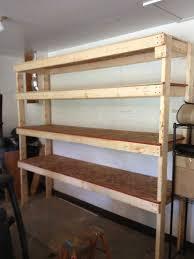 diy garage shelves 2x4