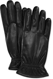 isotoner smartouch faux leather tech gloves