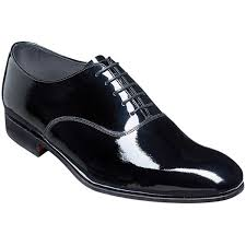 barker madeley shoes mens dress oxford black patent