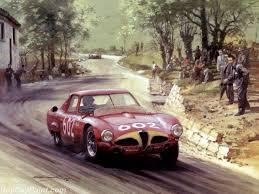 racing car oil paintings 015
