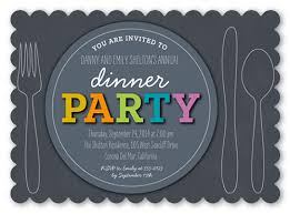corporate dinner invite dinner invitation wording examples for any dinner party shutterfly