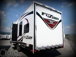 new 2016 keystone rv fuzion rv fuzion 303 toy hauler travel trailer along tow behind cing trailer atv motorcycle hauler cer rv rv s lerch rv
