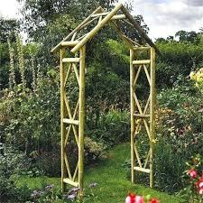 wooden garden arches full image for garden arches rustic style wooden garden arch garden ornaments direct