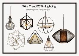 lighting trend. Wire Frame Lighting Trend 2015 T