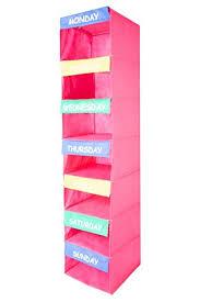 kids hanging closet organizer.  Closet Daily Activity Organizer Kids 7 Shelf Portable Closet Hanging  Great Closet Solutions To