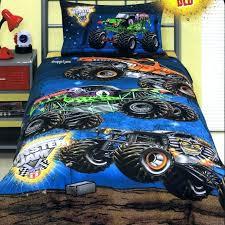 monster truck bedding sets monster truck bed set jam trucks grave digger queen quilt doona duvet