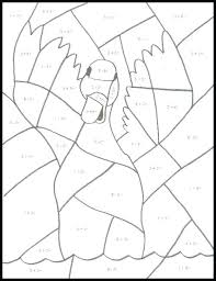 addition and subtraction coloring pages math pictures