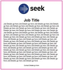Best Photos Of Creating A Job Advertisement Sample Sample