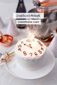 Countdown To Midnight Champagne Cake Pizzazzerie