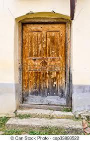 very old door csp33893522