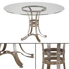tempe round metal dining table 3d model max obj mtl 1