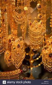 Dubai Gold Jewellery Designs Photos Gold Necklace Dubai Stock Photos Gold Necklace Dubai Stock