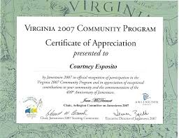 Certificate Of Appreciation Letter Sample Cepoko Com