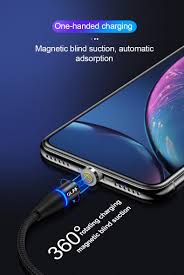 <b>OLAF 3A Magnetic</b> Fast Charging Cable For Iphone X XR XS MAX 8 ...