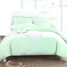 light green duvet cover light blue duvet cover satin weave cotton thread count pure color light