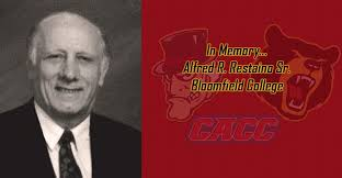 BLOOMFIELD COLLEGE & CACC LEGEND ALFRED R. RESTAINO SR. PASSES AWAY -  Bloomfield College Athletics